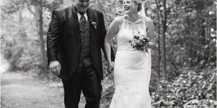 ...romantische Hochzeit auf dem Lande...